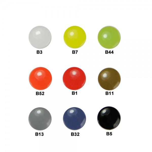 Pins en plastique - ronde, petite (Kam Snaps T3)