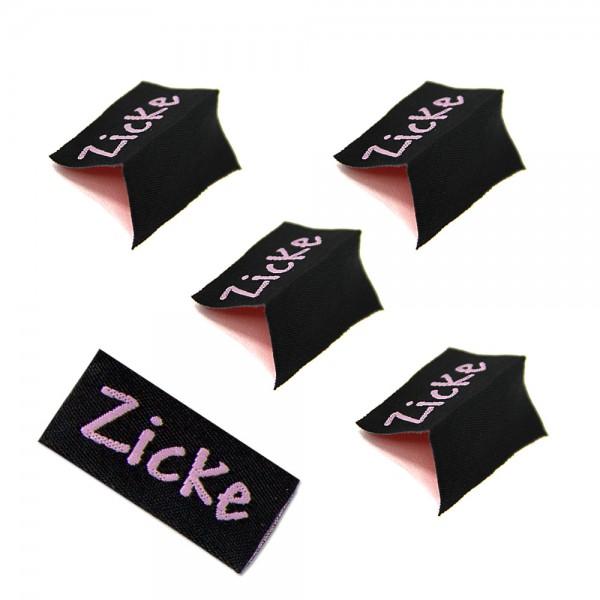 """Fix&Fertig - Étiquette textile """"Zicke"""""""