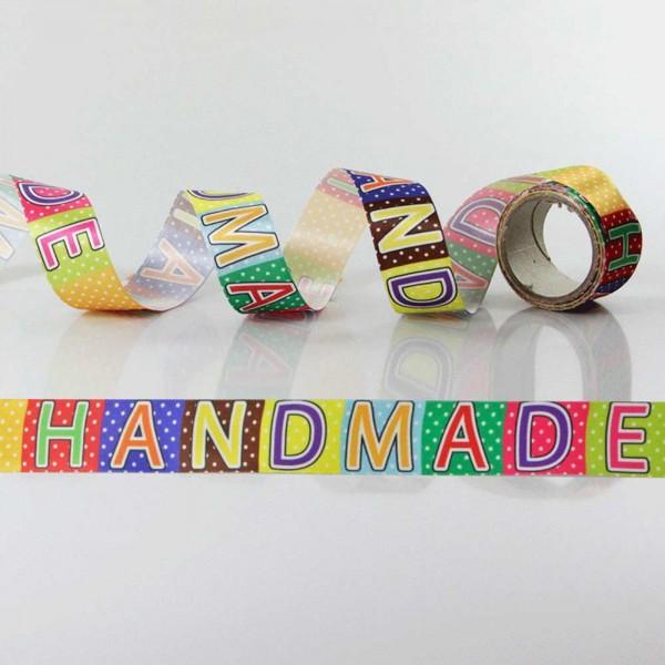 Ruban cadeau satin Handmade