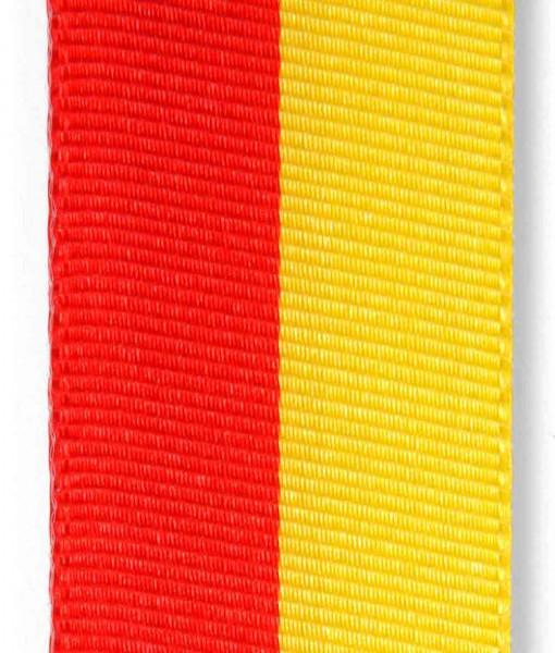 Nationalband rot-gelb, Vereinsband