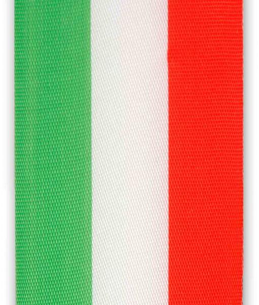 bande nationale verte - blanche - rouge