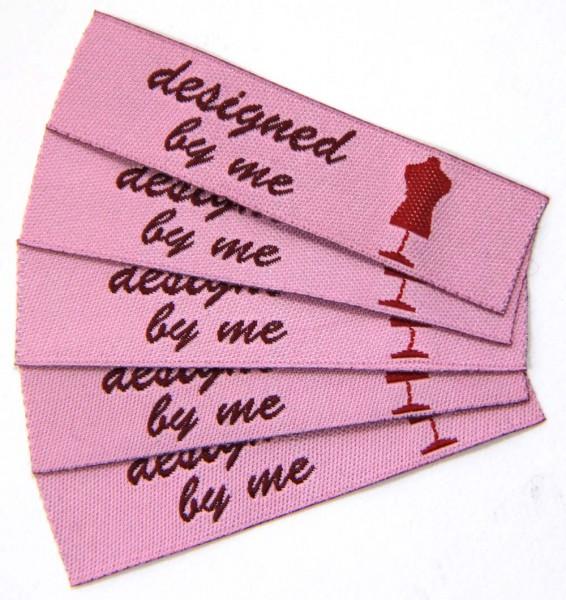 """Fix&Fertig - Étiquette textile """"designed by me"""""""
