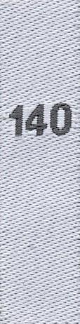 Fix&Fertig - taille étiquettes 140 (enfants)