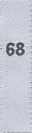 Fix&Fertig - taille étiquettes 68 (enfants)