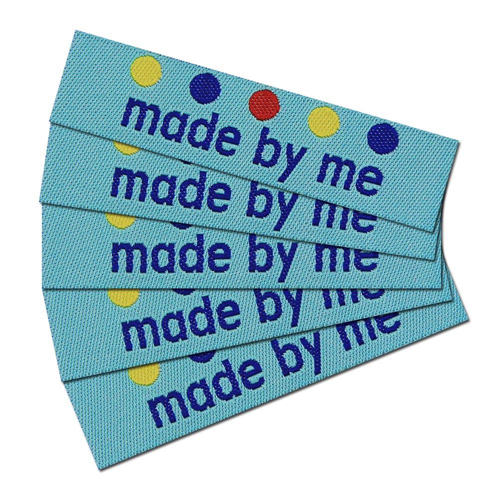 50 étiquettes Textile 100/% coton sur polyestertaft