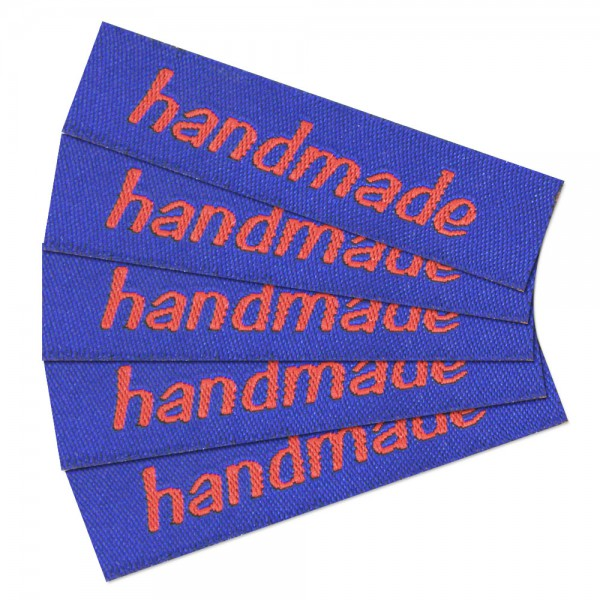 "Fix&Fertig - Étiquette textile ""handmade"" 2"