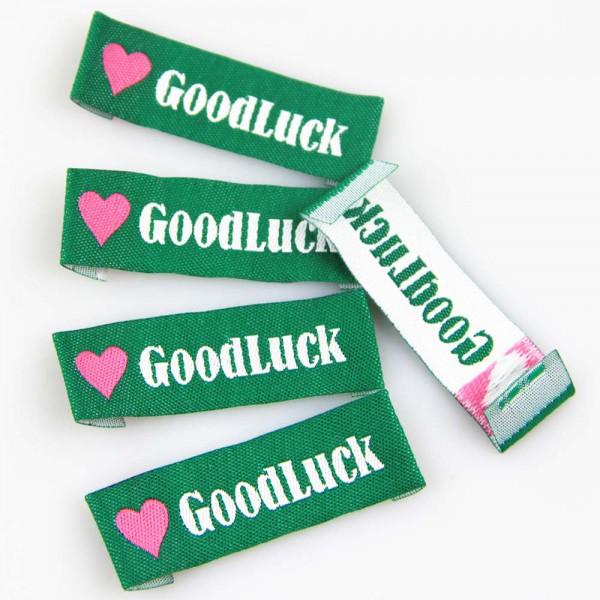 """Fix&Fertig - Étiquette textile """"Good Luck"""""""