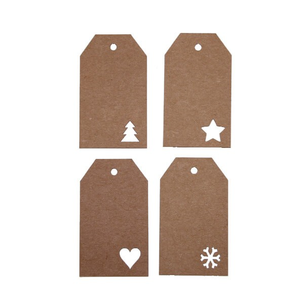 Hang tags blanco