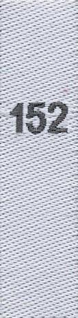taille étiquettes tissées pour les enfants, taille 152