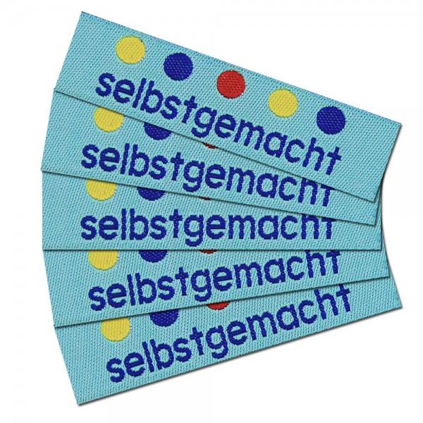 """Étiquette textile """"selbstgemacht 2"""""""