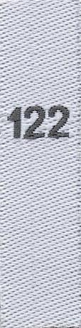 Fix&Fertig - taille étiquettes 122 (enfants)
